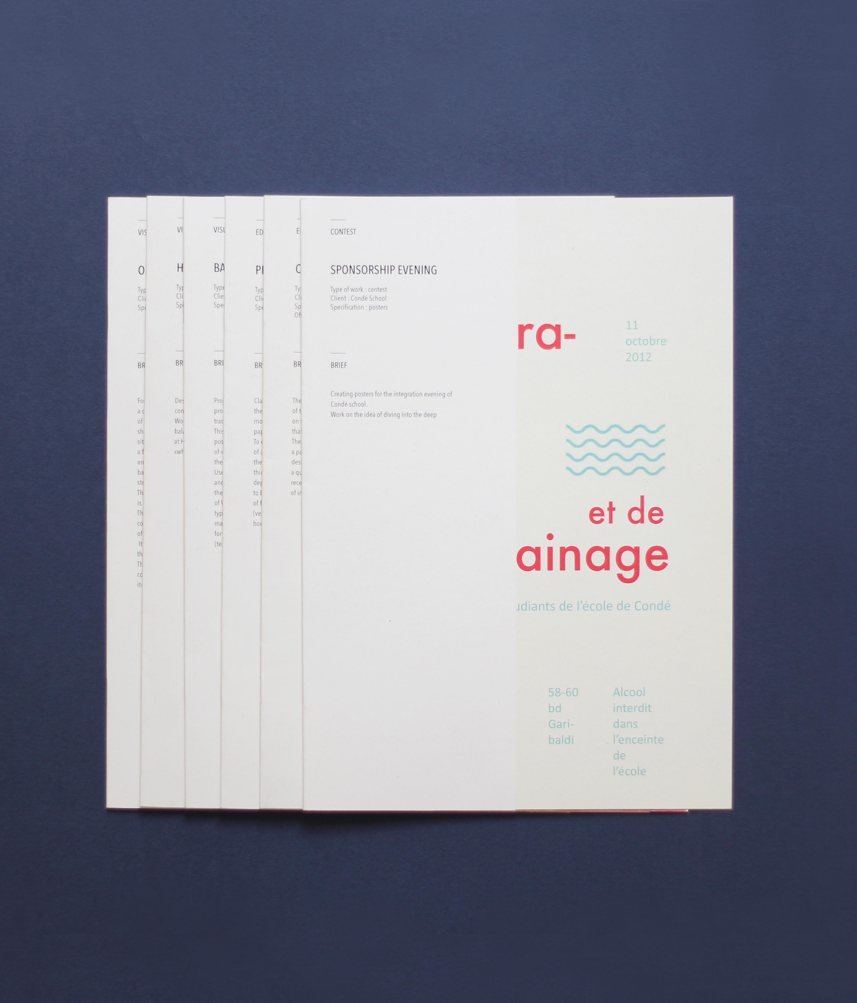 Bien connu Book – Andréa Delétang | Graphiste FG17